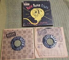 FRANKIE FROBA & His Boys 45 Record Box Set of 2 MISSING 1 Record