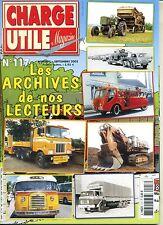 CHARGE UTILE n°117 Spécial ARCHIVES DES LECTEURS