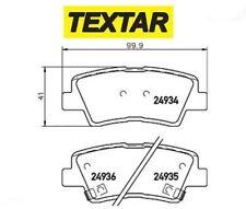 2493401 Kit pastiglie freno, Freno a disco (TEXTAR)