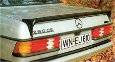 Mercedes Benz W123 AMG trunk Spoiler 2 Styles