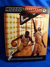 Signed Missouri Tigers 2001-02 Basketball Yearbook by Coach QUIN SNYDER