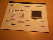 Sony Direct View Tv Ba-5 Chassis Circuit Desc and Troubleshooting Ctv-27