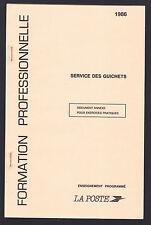 CARNET FC8 de 1986, TIMBRES FICTIFS, FORMATION PROFESSIONNELLE , TB