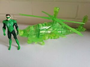"Mattel The Green Lantern Battle Breakouts Construct Copter 2010 + 3.75"" Figure"