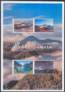 Indonesia - Indonesie Special New Issue 2021 Volcano Mountain Semeru (MS)