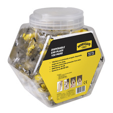 Sealey Worksafe Ear Plugs Disposable - 100 Pairs -403/100