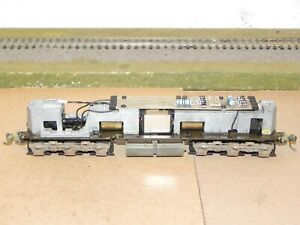 Life Like P2K HO SD9 Powered Diesel Locomotive Chassis DCC Ready RUNS