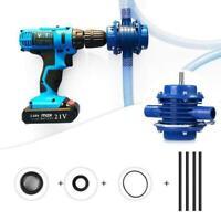 Mini Hand Bohrmaschine Wasser Pumpe Selbstansaugende Motor Kleine Haushalt T1Z7