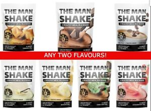 The Man Shake 2X Meal Replacement WeightLoss Shake BEST $ ON eBay ANY 2 FLAVOURS