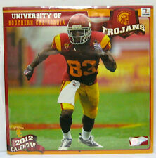 2012 Wall Calendar University of Southern California Trojans New and Sealed