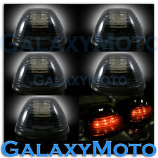 99-15 Ford Super Duty F250+F350+F450 Cab Roof 5pcs AMBER LED Lights SMOKE Lens