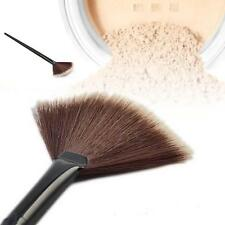 Pro Fan Shape Makeup Cosmetic Brush Blending Highlighter Contour Face Powder@