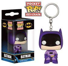 DC Comics porte-clés Pocket POP! Vinyl 75th Anniversary Batman Violet 4 cm 64310