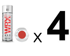 Quad (4) Pack Spray Paint For Ruby Red RAL 2002 /Brilliant/Perfect Finish/400ml