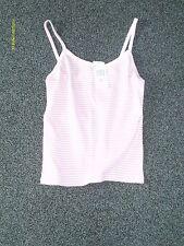 womens clothes keywest pink stripe vest size 14