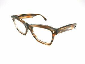 CELINE Brown Grey Striped Eyeglasses CL40058I - 056 52mm