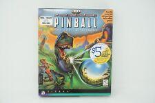 3D Ultra Pinball The Lost Continent PC Vintage 1997 Big Box Ultra Rare Classic