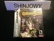 New Sealed Golden Sun the lost age GBA - NTSC US