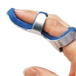 Solace Care Mallet Finger Frog Splint Aluminium Foam DIP Malleable Support Brace