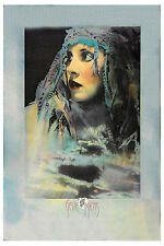 1980's Fleetwood Mac's Stevie Nicks * Wild Hearts * Concert Tour Poster 1983