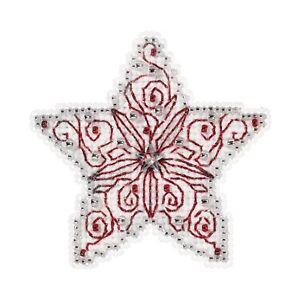 Filigree Star Cross Stitch Ornament Kit Mill Hill 2019 Winter Holiday MH181932