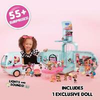 LOL Surprise Doll Glamper Fashion Camper 55+ Surprises Car Slide Fun Gift Set