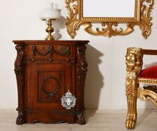 Nachttisch fürs Himmelbett Mahagoni Teak