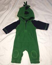 Baby Gap Fleece Dinosaur Fleece Outfit Green 0-3 Months