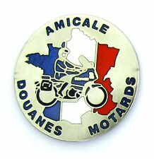 PINS AMICALE MOTARDS DOUANES