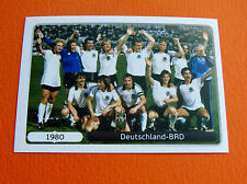 523 EQUIPE TEAM DEUTSCHLAND BRD 1980 FOOTBALL PANINI UEFA EURO 2012