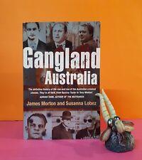 J Morton: Gangland Australia/true crime/organised crime/gangs/history/Australia