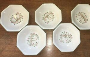 ETERNAL BEAU CEREAL BOWLS X 5 JOHNSON BROTHERS