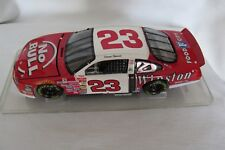 Action Jimmy Spencer #23 NO BULL Ford Taurus 1:24 Die Cast Bank / Plexiglas Case