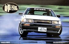 Fujimi 1/24 Drift King Ae86 Levin Model Kit