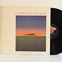 Fripp & Eno EVENING STAR 1976 Antilles LP MINTY