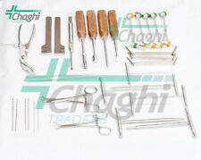 Orthopedic veterinary Surgical Medical Instrument and implants 32 PCs Set Chaghi