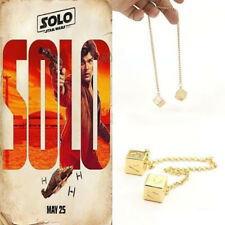 Dice Han Solo Lucky Story Cosplay Prop Fashionable cube Chain Attractive