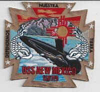 USS New Hampshire SSN 778 Otto BC Patch Embroidered Submarine Ball Cap