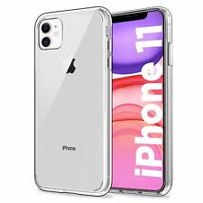 "For Apple iPhone 11 (6.1"") Case Clear Silicone Ultra Slim Gel Cover"