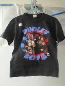VINTAGE 2000 WWF WRESTLING DUDLEY BOYZ 3D T-SHIRT MEDIUM