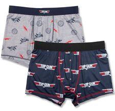 NWT Men's Top Gun Boxer Briefs Underwear M 32-34 Movie Maverick Fighter Pilot