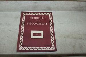 MOBILIER ET DECORATION N°5 1946 LALIQUE, LELEU, PAUL BONET, YVES BRAYER,
