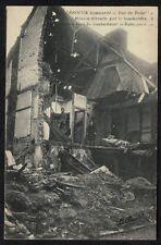 Cpa Guerre Hazebrouck bombardé - rue de Rubecque maison détruite