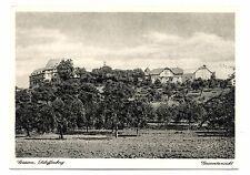 Giessen Schiffenberg Gesamtransicht Germany Postcard Vintage Kupfertiefdruck