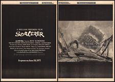 SORCERER__Original 1977 Trade AD / poster_advance movie promo__WILLIAM FRIEDKIN