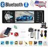 4.1'' Single 1DIN Car Stereo MP5 MP3 Player Bluetooth FM Radio USB AUX + Camera