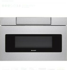NEW Sharp Smd2470as y drawer microwave oven.