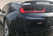 16-18 CAMARO smoked tinted precut vinyl TAIL LIGHT covers overlays