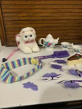 """Amazing Ally 5"""" White Kitty & Accessories"""
