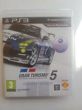 Gran Turismo 5 Academy Edition simulador de conducción ps3